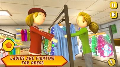 Shopping Mall- Stickman Family screenshot 5