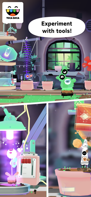 ‎Toca Lab: Plants Screenshot