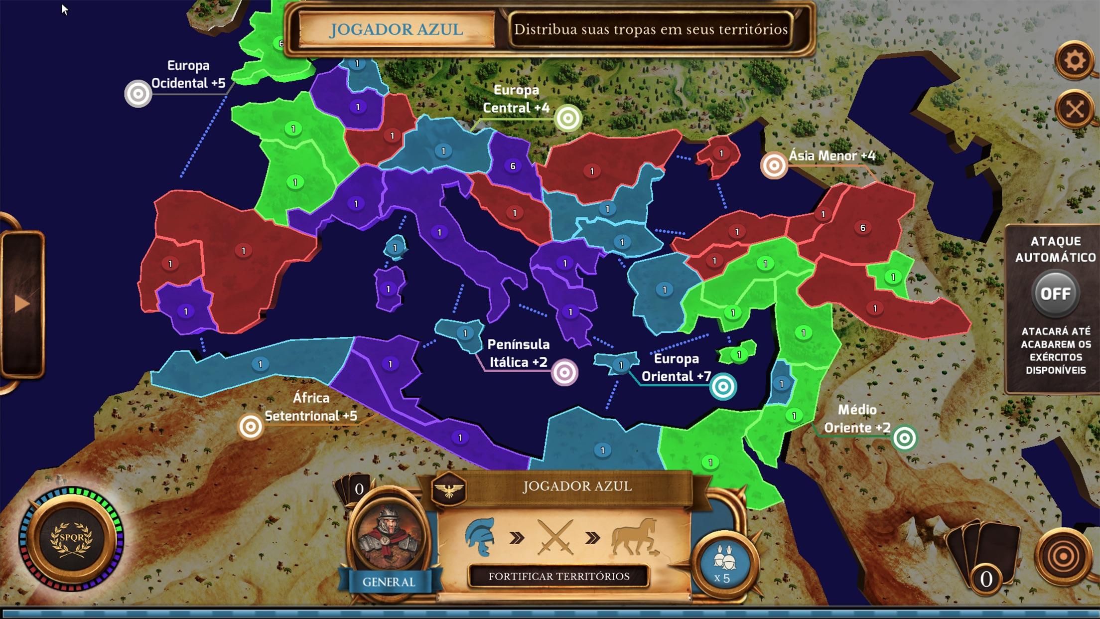 Screenshot do app War