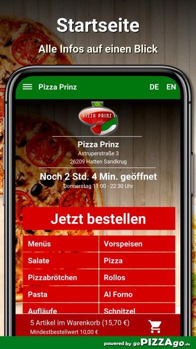Pizza Prinz Hatten Sandkrug screenshot 2