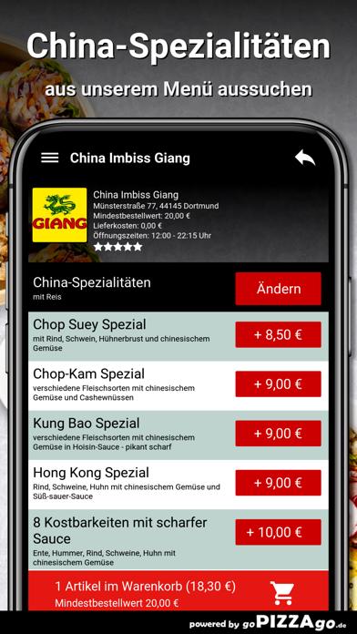 China Imbiss Giang Dortmund screenshot 5