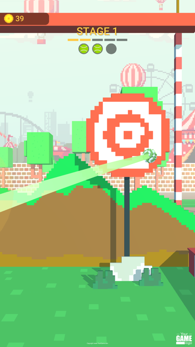 Pixel Ball: slide master Screenshot