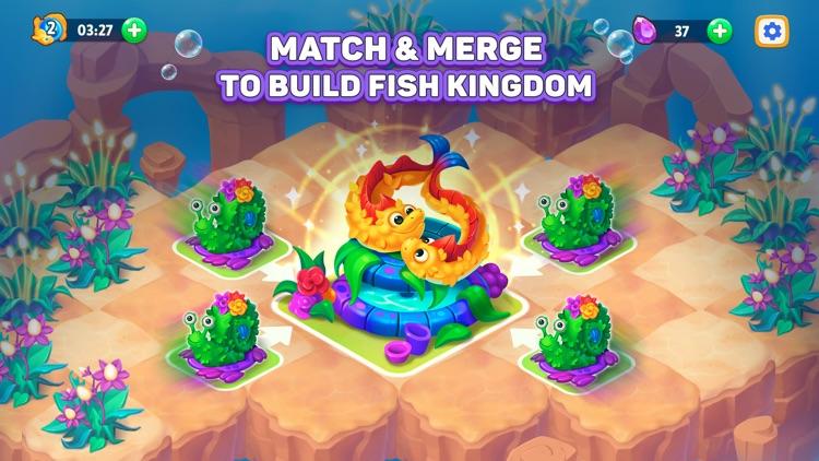 Sea Merge! fish aquarium games screenshot-0
