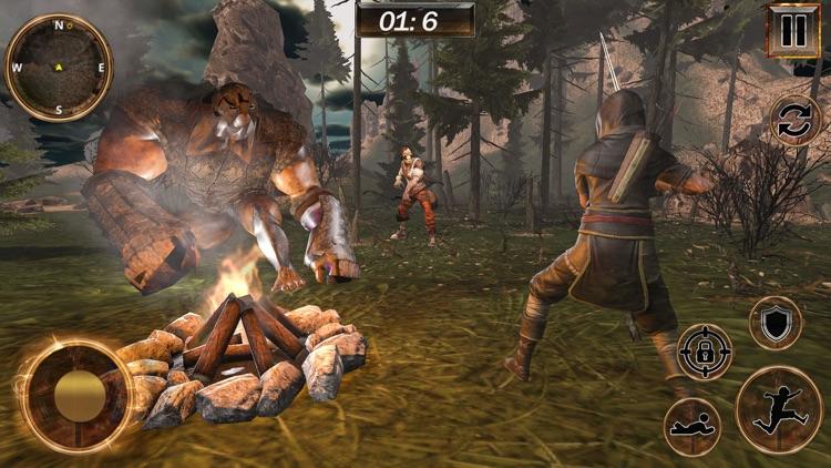 Assassin jungle War screenshot-4