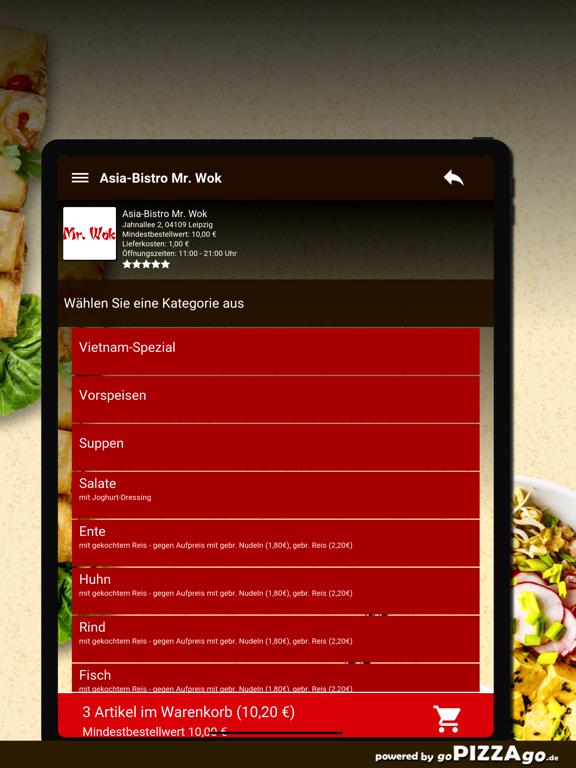 Asia-Bistro Mr. Wok Leipzig screenshot 8