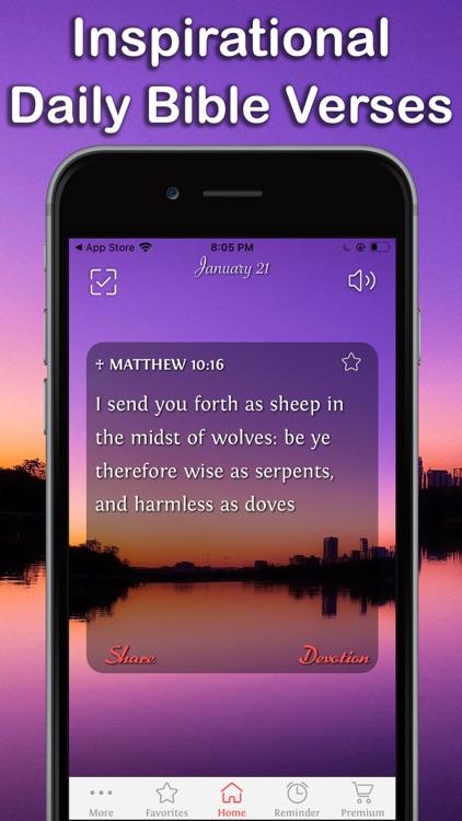 Daily Bible Inspirations Verse screenshot-0