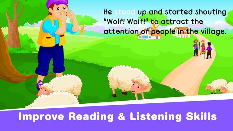 Kids Stories: Learn To Read screenshot-9