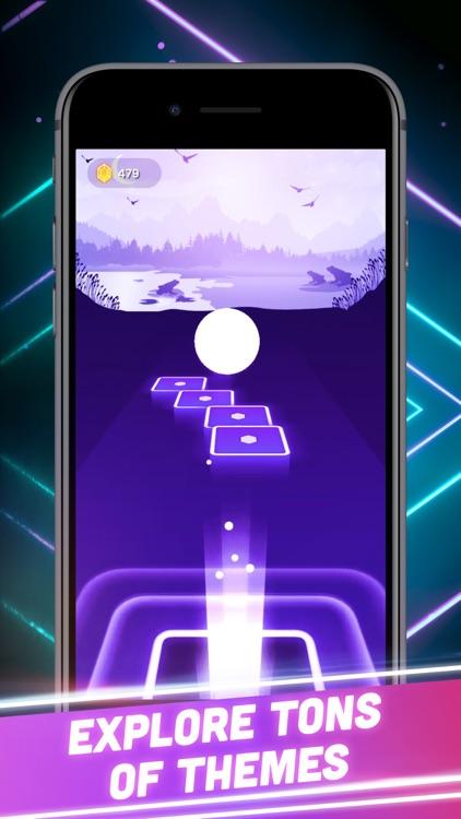Hop Tiles 3D: Hit music game screenshot-3