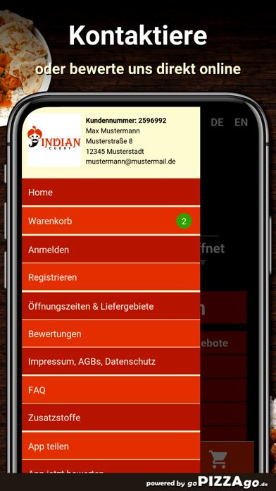 Indian Curry Kassel screenshot 3