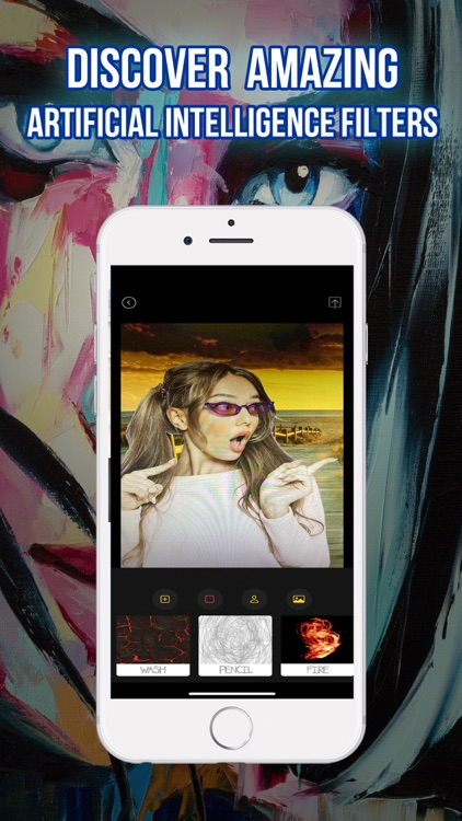 Art in You: Artistic Filters screenshot-0