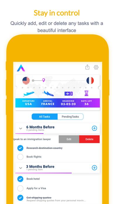 Avvinue: Moving Checklist+ Pro screenshot 4
