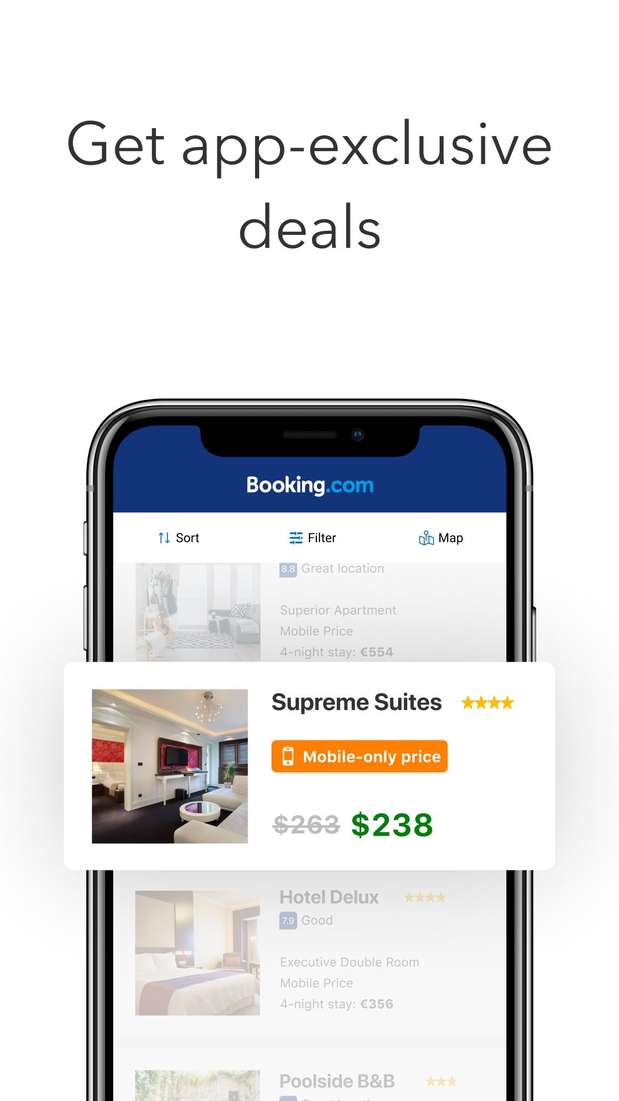 Booking.com: Hotels & Travel Screenshot