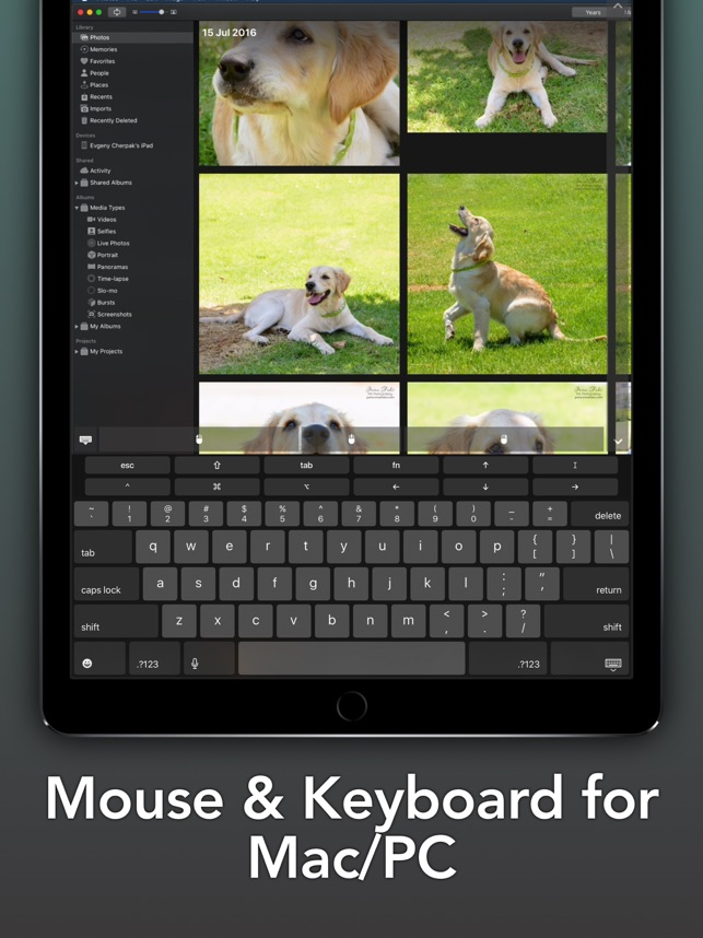 ‎Remote, Keyboard & Mouse [Pro] Screenshot