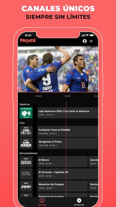 PrendeTV: TV In Spanish screenshot 4