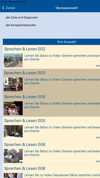 LogoMedien Sprachheil-AppScreenshot von 1