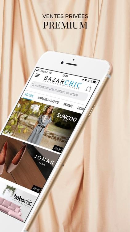 BazarChic, ventes privées mode