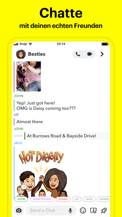 messages.download Snapchat software