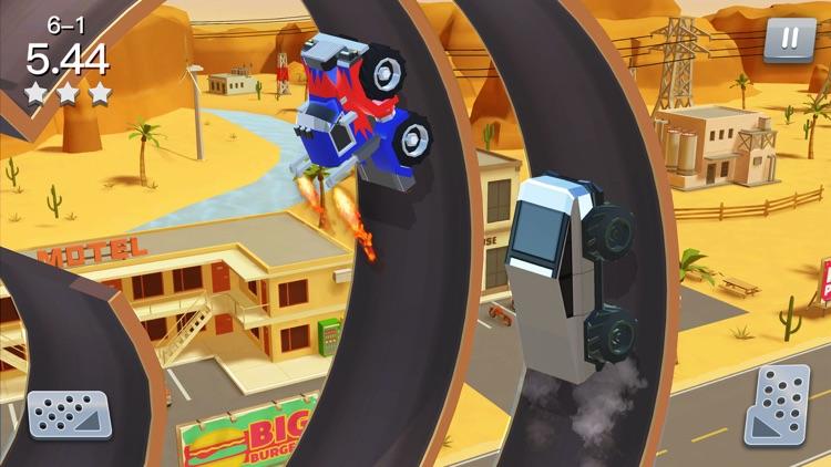 Stunt Racing Car - Sky Driving screenshot-3