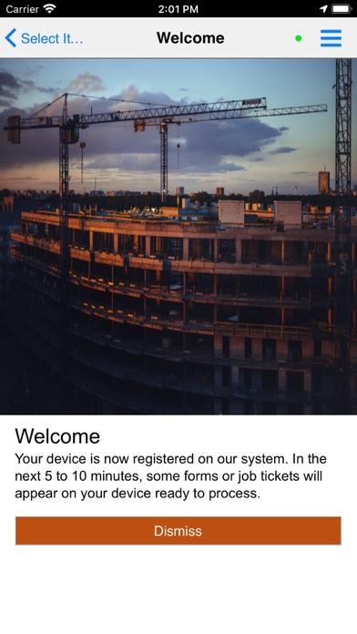 RedSky Client Screenshot
