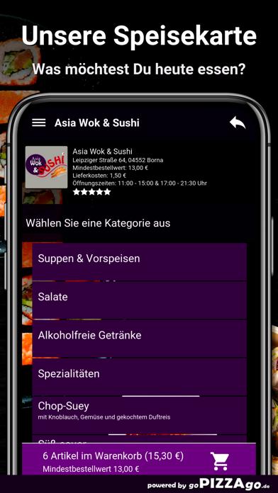 Asia Wok & Sushi Borna screenshot 4