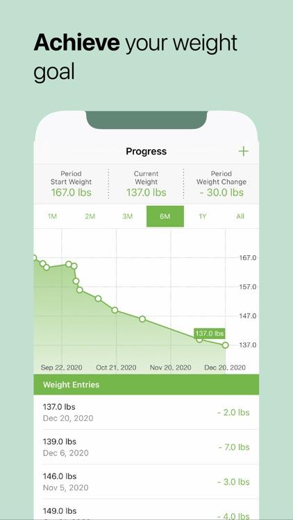 MooveFit Calorie, Keto Counter screenshot-6