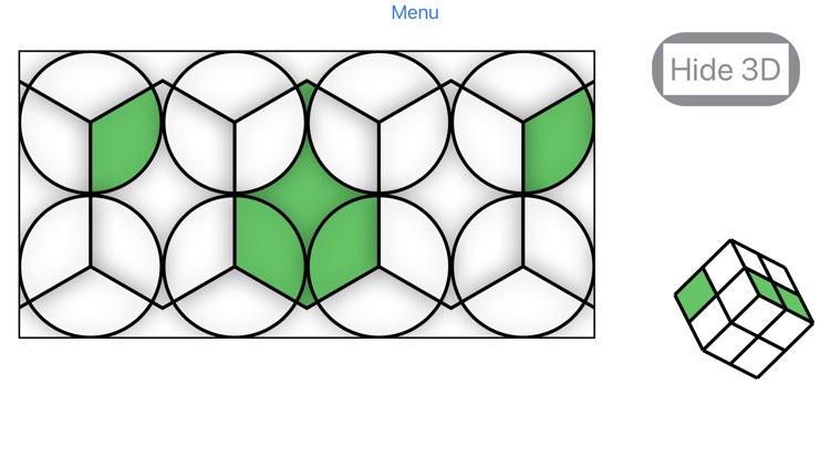 Lateral Cube-Like Rubik's Cube screenshot-3