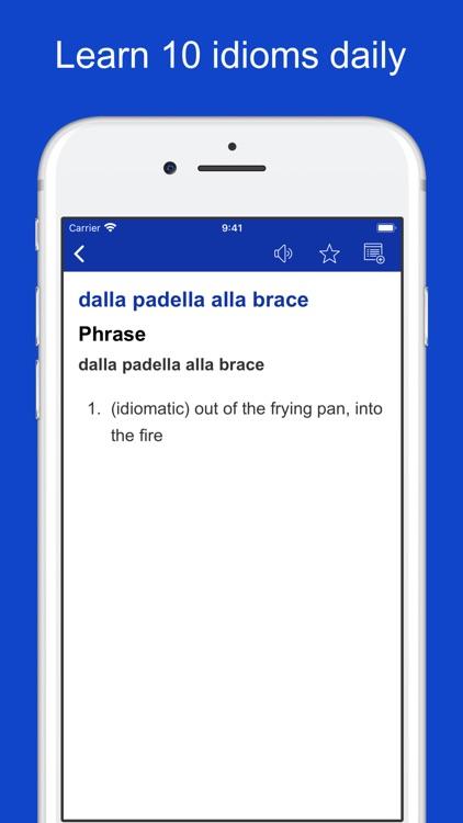 Italian Idioms and Proverbs screenshot-6