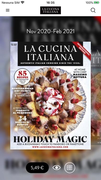 La Cucina Italiana USA screenshot-5
