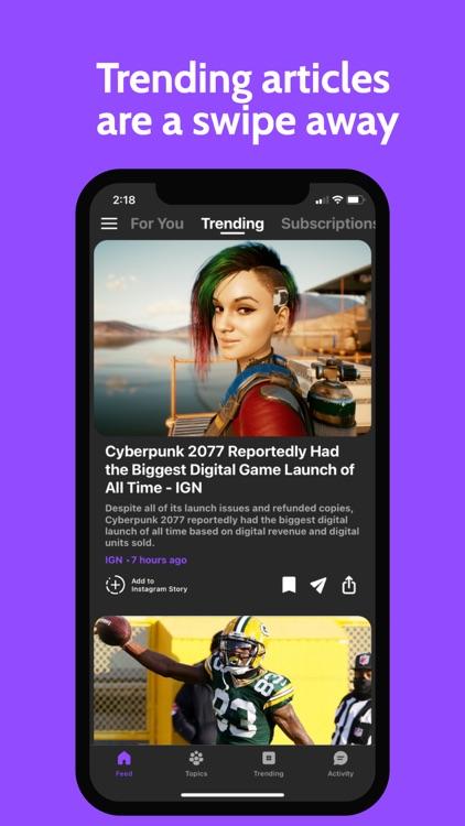 Newsbite: Personalized News screenshot-3