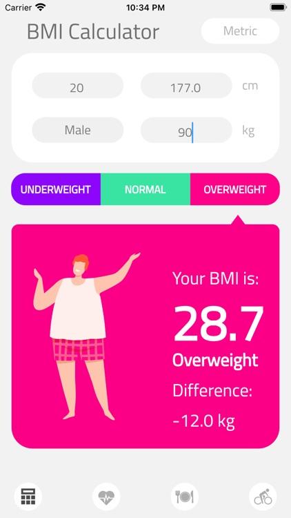 BMI Calculator Health screenshot-7