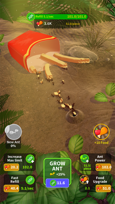 Little Ant Colony - Idle Game screenshot 4