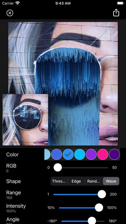 Glitch Fx - Pixel Sorting screenshot-7