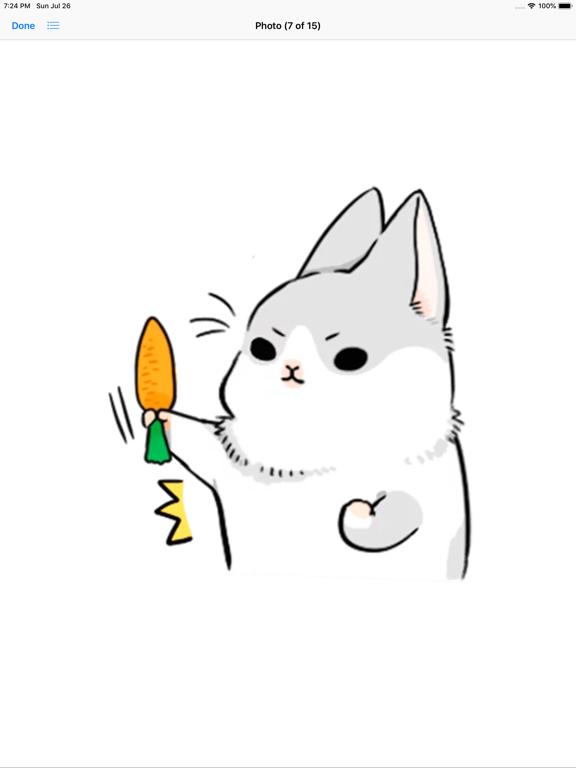 Ipad Screen Shot Machiko Rabbit Pack# 3 4