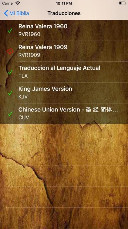 Mi Biblia App screenshot-6