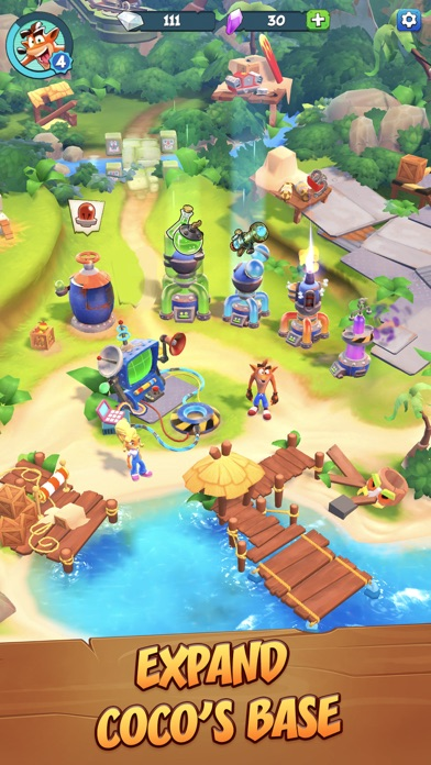Crash Bandicoot: On the Run! Screenshot on iOS