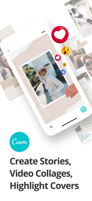 ‎Canva: Insta Story und Video Screenshot