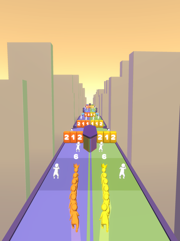 Crowd Snake Run screenshot 13