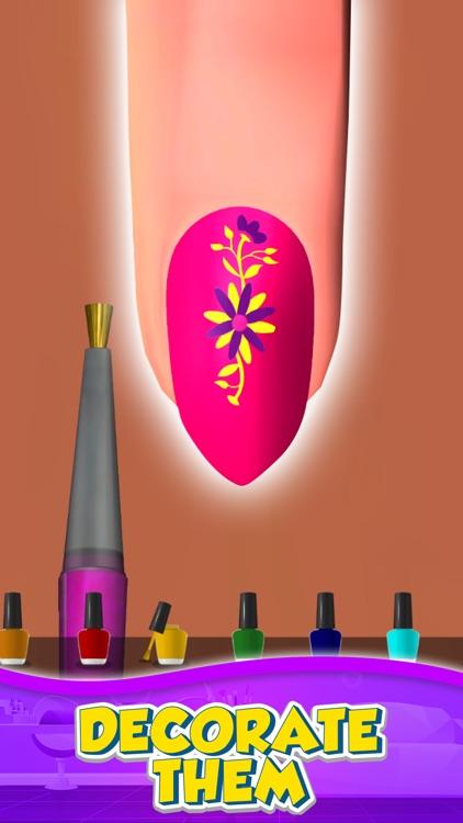 时尚美甲店 (Nail Salon 3D)