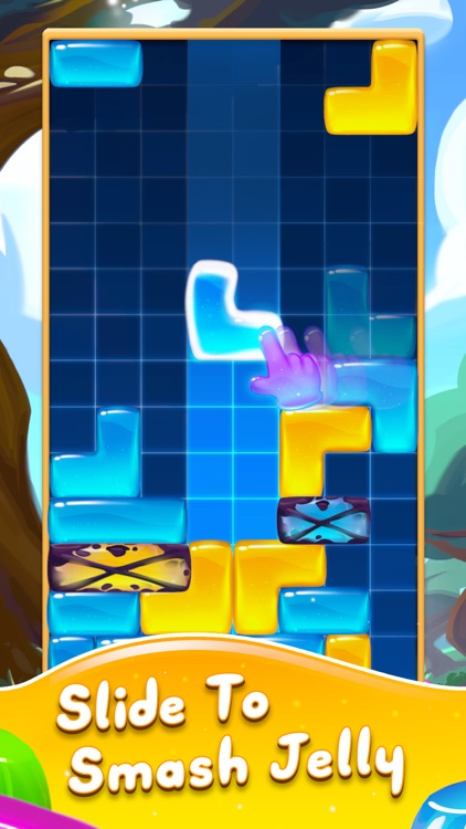 Jelly Slide Sweet Drop Puzzle screenshot-0