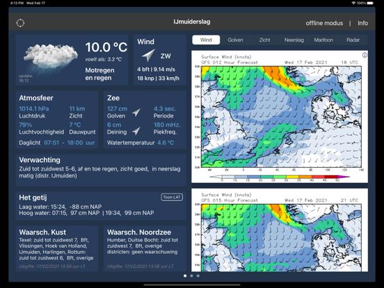 Zeeweer HD iPad app afbeelding 1