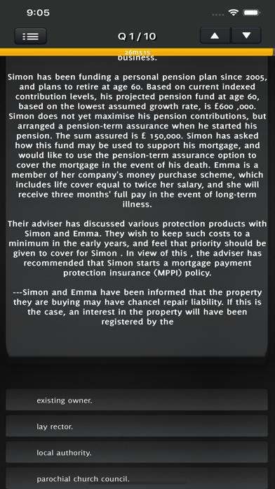 Certificate in Mortgage CeMAP3 screenshot 3