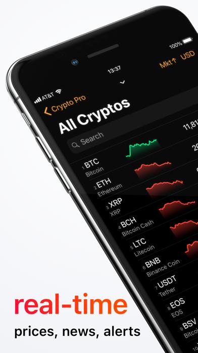 Crypto Pro - Portfolio-TrackerScreenshot von 2