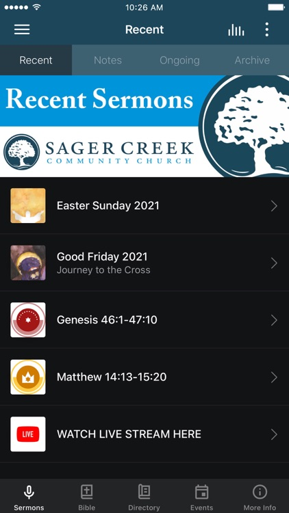 Sager Creek Community Church