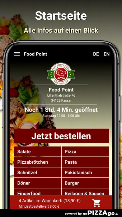 Food Point Kassel Pizza screenshot 2