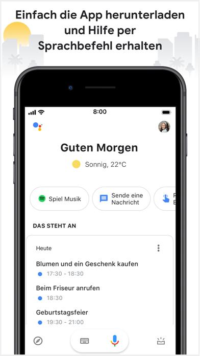 Google AssistantScreenshot von 1