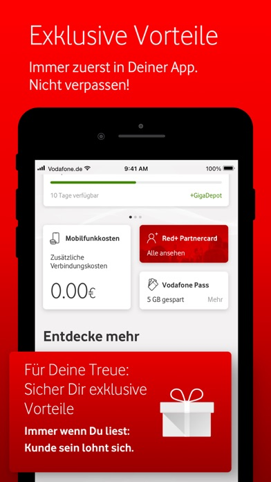 messages.download MeinVodafone software