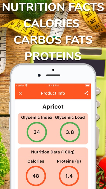 Glycemic Index & Load Tracker