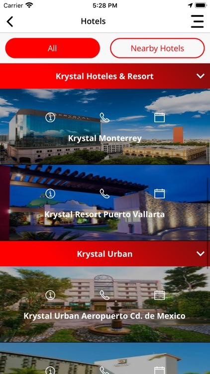 Krystal Hotels & Resorts screenshot-5
