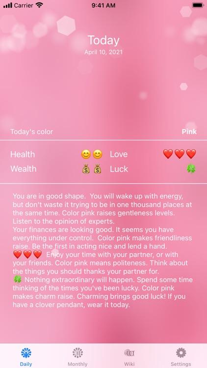 Color Horoscope
