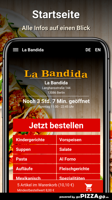 La Bandida Berlin screenshot 2